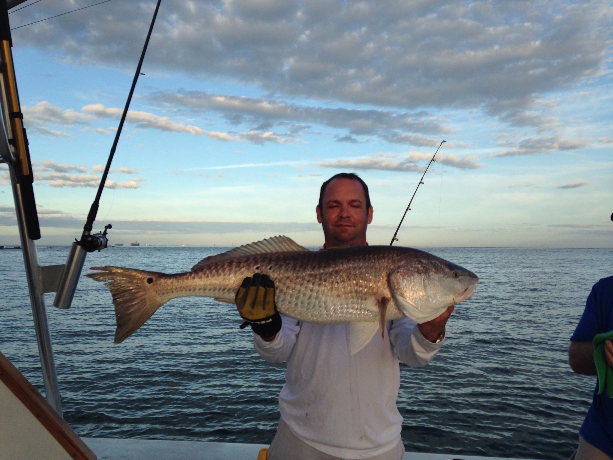 Fishing report galveston for Galveston jetty fishing report