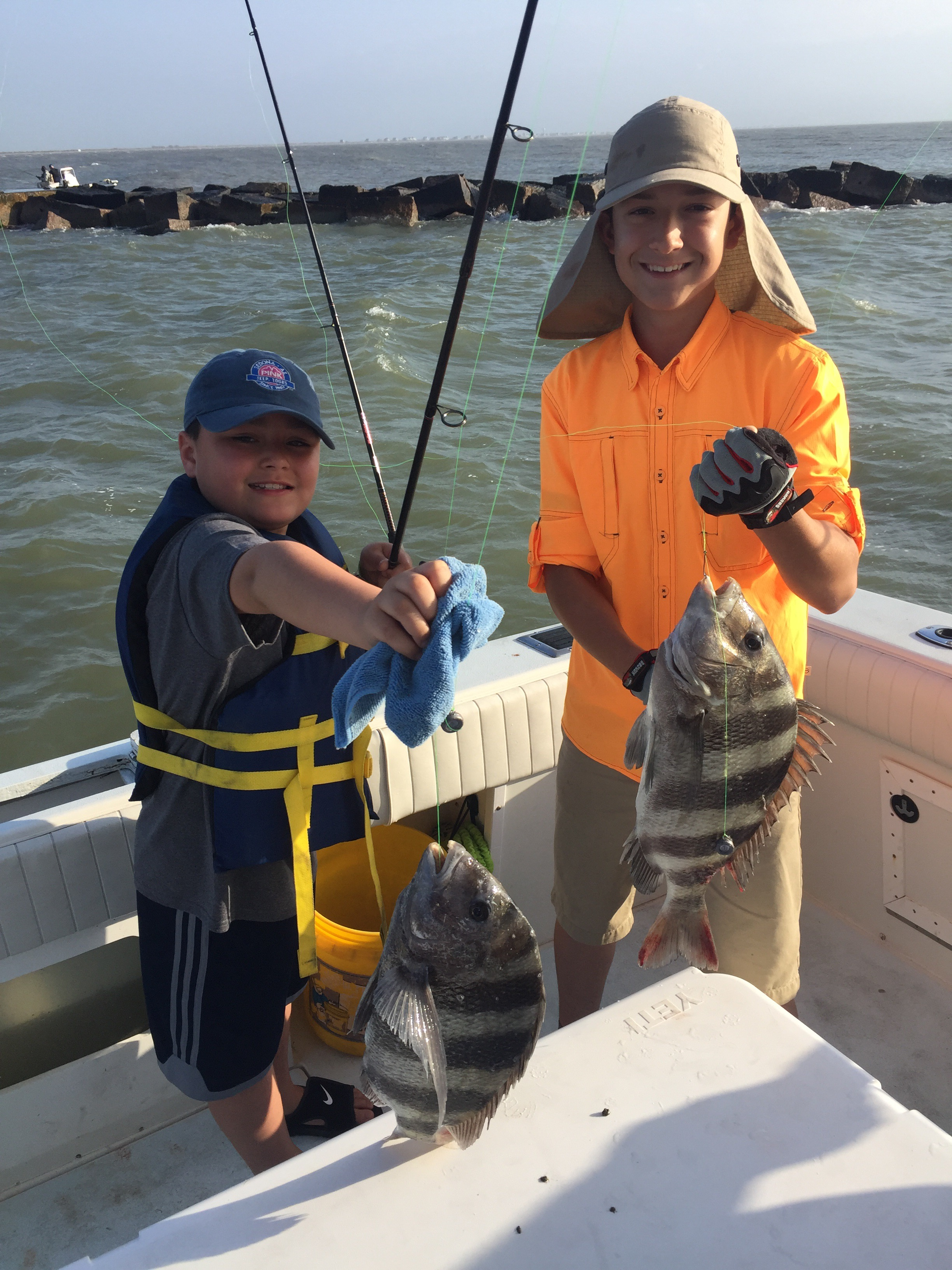Galveston fishing reports offshore bay fishing part 2 for Galveston fishing charter