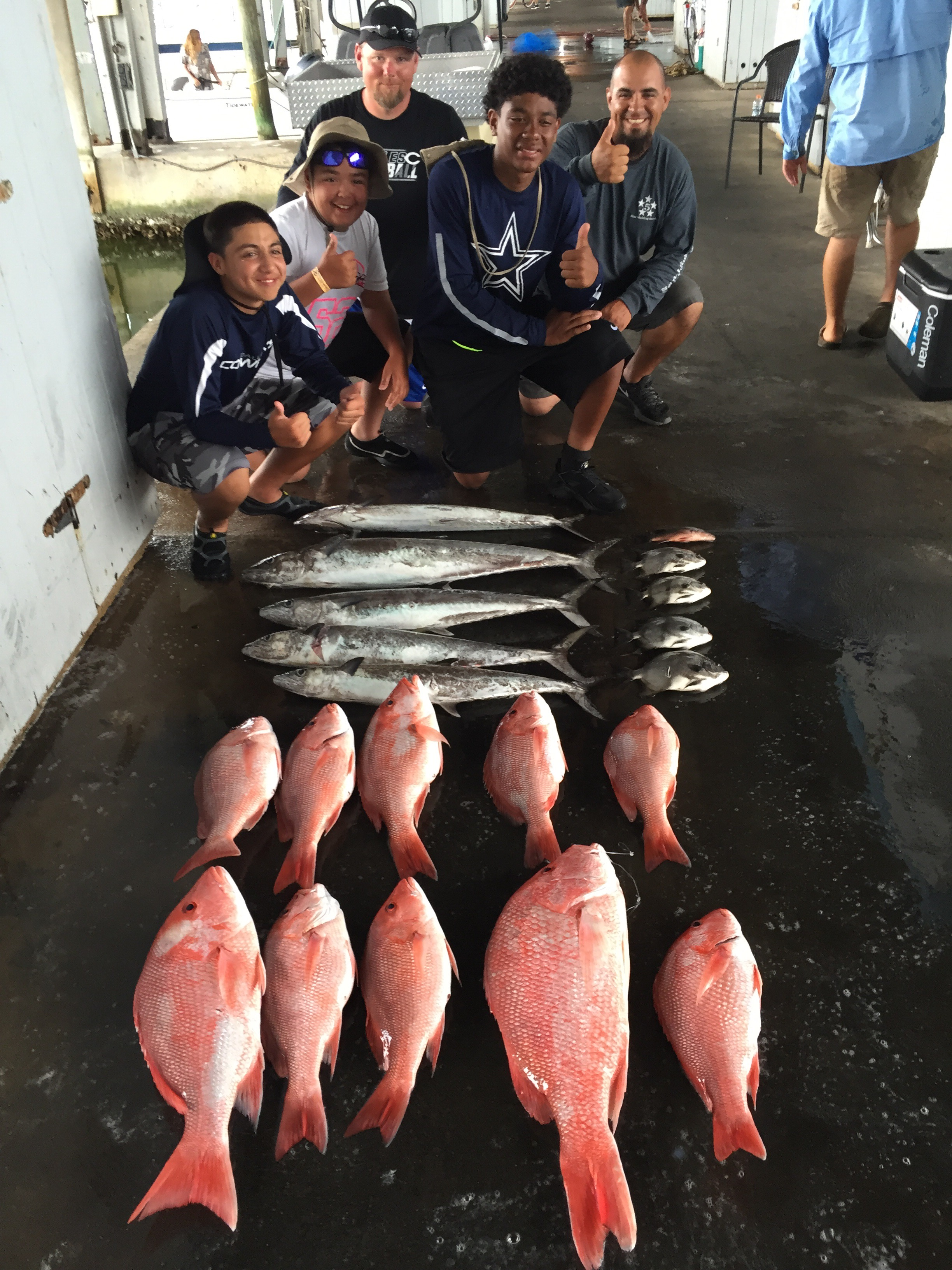 Galveston red snapper fishing